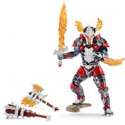 Cavaliere Drago con armi