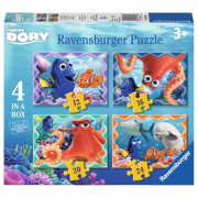 Puzzle 4in1 finding dory