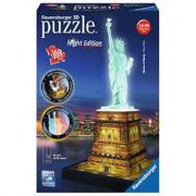 Puzzle 3d statua dellaliberta night edition