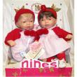 Bambole gemelle cm. 35