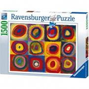 1500 Pezzi puzzle- Studio sul colore Kandinsky