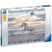 Puzzle 500 pezzi cavallo bianco