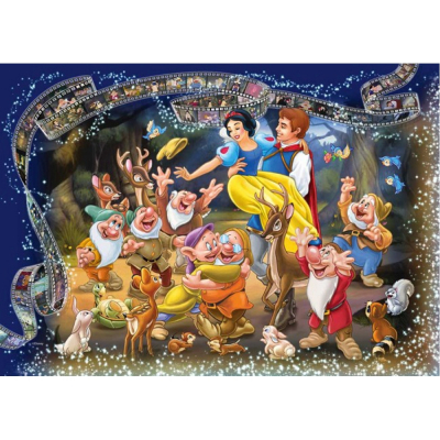 Puzzle Disney Biancaneve 1000 pezzi