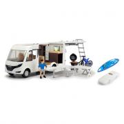 Camper modellino in plastica gioco