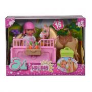 Simba Toys bambola Evi Love Holiday Horse