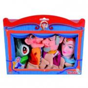 Confezione 4 marionette