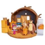 Masha e Orso playset casa Orso