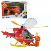 Sam il pompiere elicottero con personaggio