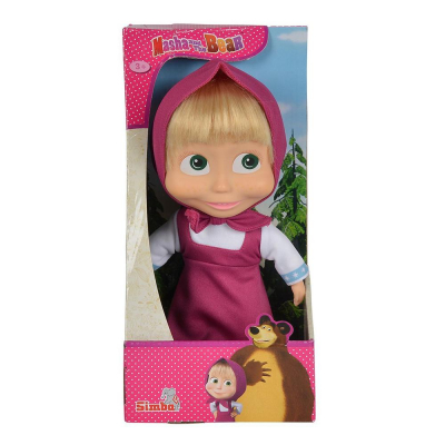 Bambola Masha con capelli cm. 23