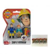 Sam il pompiere personaggi