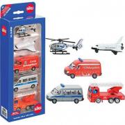 6282 Siku Set 5 veicoli