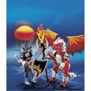 Drago di fuoco con guerriero 5463 playmobil