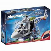 Playmobil elicottero della polizia con luci e suoni (6921)