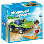 Playmobil - Surfista con Quad