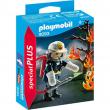 Playmobil - POMPIERE CON ALBERO IN FIAMME
