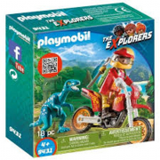 Playmobil - Moto da Cross e Raptor