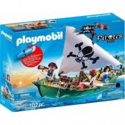 Playmobil- nave pirata con motore