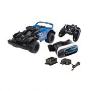 Auto racer radiocomandata con videocamera e occhiali