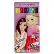 Top Model 12 matite colorate