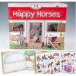 """Album da colorare """"Happy Horses"""""""