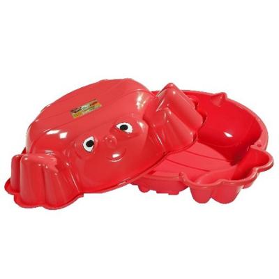 Sabbiera coccinella rossa