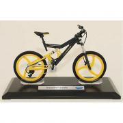 Bicicletta in scala 1:10, retrocarica