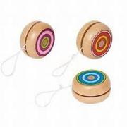 Yo-Yo colorati in legno