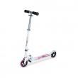 Monopattino X.X.Treme 2 ruote Bianco fiori rosa