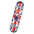 Skateboard wavin flag abec 1