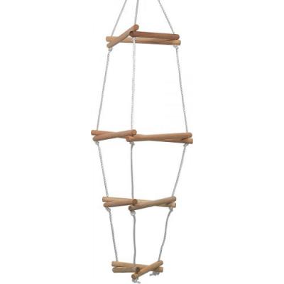 Torre arrampicata in legno per altalene