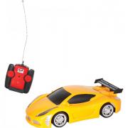 Auto radiocomandata racer gialla 1/24