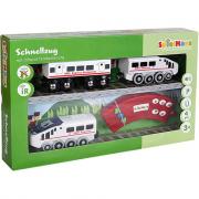 Treno locomotore infra red radiocomandato