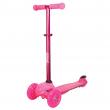 Monopattino 3 ruote rosa con led