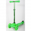 Monopattino 3 ruote verde fluo 50kg