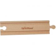 Rettilineo per trenini in legno 2 pezzi
