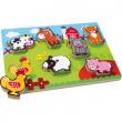 Puzzle Animali della fattoria 1468 Legler