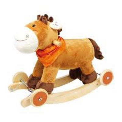 Cavallo a dondolo nele con ruote