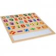Puzzle 6082 numeri con lavagna magnetica Legler