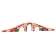 Ponte piccolo per piste trenini in legno