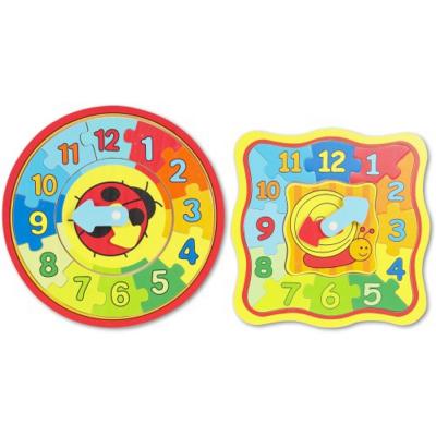 Beeboo Puzzle di apprendimento divertente dell'orologio