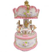 Carosello carillon piccolo rosa e lilla