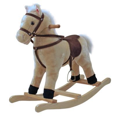 Cavallo A Dondolo In Peluche.Cavallo A Dondolo In Peluche Damesmodebarendrecht