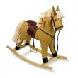 Cavallo a dondolo textile