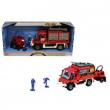 Camion pompieri con omini