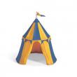 Tenda da torneo azzurro gialla
