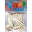 8 palloncini bianchi lattice