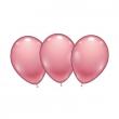 8 palloncini rosa lattice