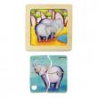 Puzzle in legno Elefante Mini Discovery Puzzle