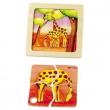 Puzzle in legno Giraffa Mini Discovery Puzzle
