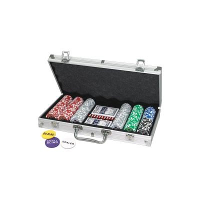 Caso di poker 300 chips